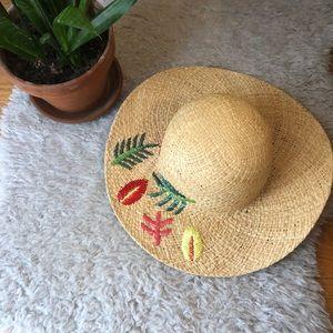 Anthropologie Straw Hat